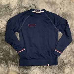 Fila   Men's Sweater   Navy and Red